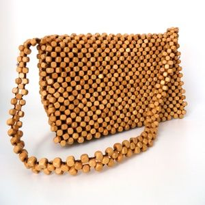 the sak Elliot Luca Wooden Bead Shoulder Purse